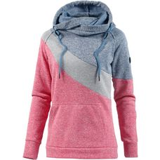 WLD WINTER CHERIEMOYA II Strickfleece Damen BLUE GREY ROSE