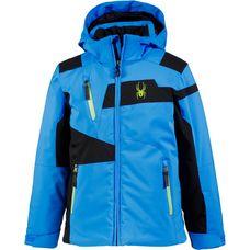 Spyder Skijacke Kinder FRENCH BLUE/BLACK/FRESH