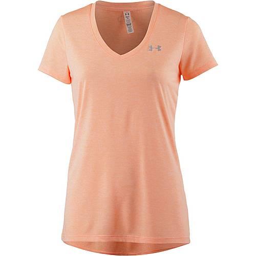 Under Armour Tech T-Shirt Damen playful peach