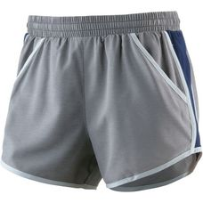 Under Armour Fly By Laufshorts Damen carbon heather