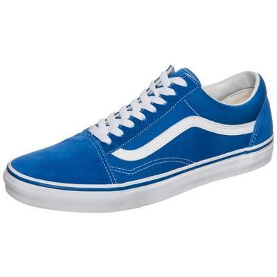Vans Old Skool Suede Sneaker blau / weiß