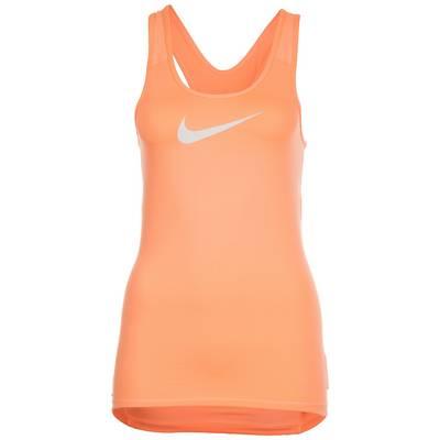 Nike Pro Dry Funktionstank Damen apricot / weiß