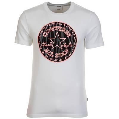 CONVERSE Neon Tiger Fill Printshirt Herren weiß