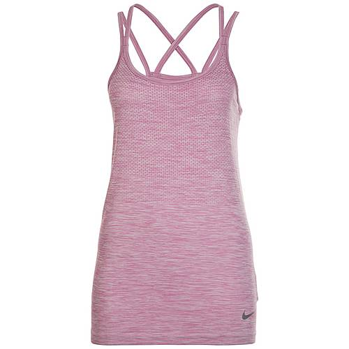 Nike Dri-FIT Knit Funktionstank Damen rosa