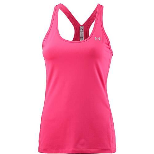 Under Armour Heatgear Funktionstank Damen pink shock