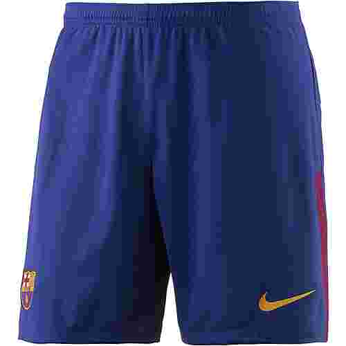 Nike FC Barcelona 17/18 Heim Fußballshorts Herren blau/gold
