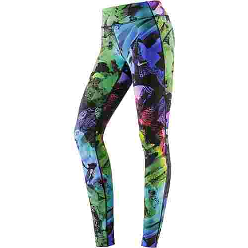 Nike Power Epic Solstice Lauftights Damen blau/bunt