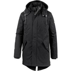Tommy Hilfiger Parka Herren BLACK BEAUTY