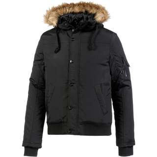 Crosshatch Kapuzenjacke Herren black