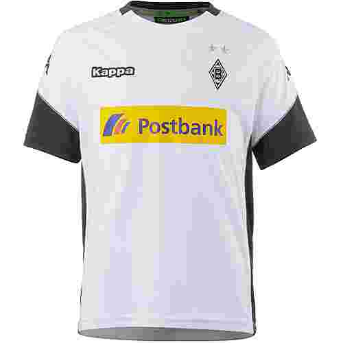 KAPPA Borussia Mönchengladbach 17/18 Heim Fußballtrikot Kinder white