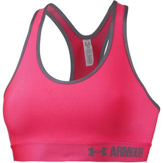 Under Armour Sport-BH Damen pink shock