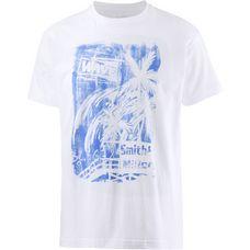Smith and Miller Sunset T-Shirt Herren white