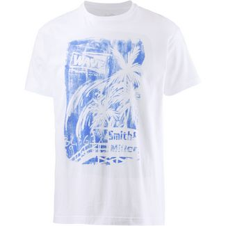Smith and Miller Sunset T-Shirt Herren white