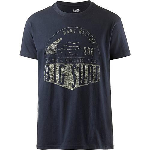 Smith and Miller Big Surf Printshirt Herren navy