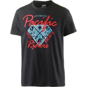 Smith and Miller pacific riders Printshirt Herren black