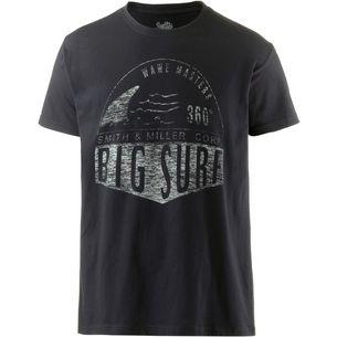 Smith and Miller Big Surf Printshirt Herren black