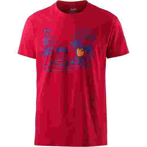 Smith and Miller Sanctury T-Shirt Herren red