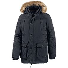 Crosshatch Parka Herren black
