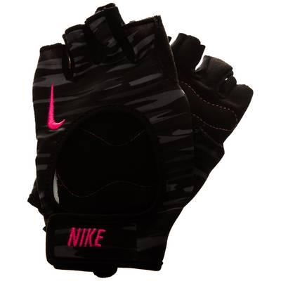 Nike Fit Fitnesshandschuhe Damen schwarz / pink