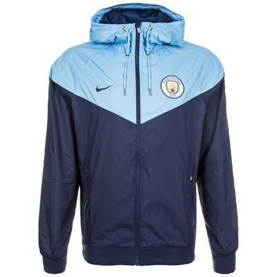 Nike Manchester City Windrunner Trainingsjacke Herren dunkelblau / blau