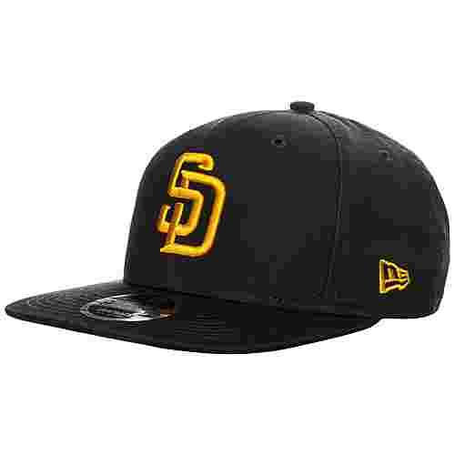 New Era 9FIFTY MLB West Coast San Diego Padres Cap dunkelblau / gelb