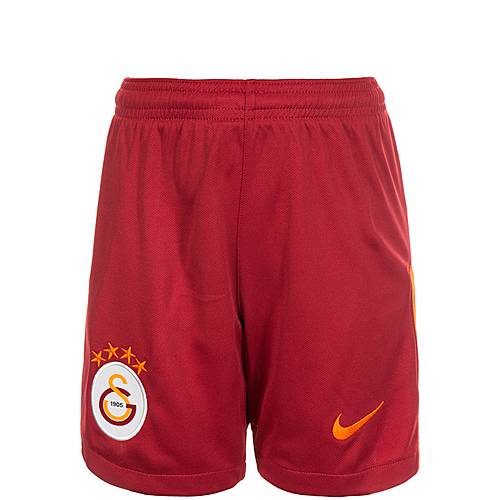 Nike Galatasaray Istanbul 17/18 Heim Fußballshorts Kinder rot / orange