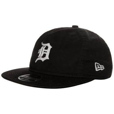 New Era 9FIFTY Chain Stitch Detroit Tigers Cap schwarz / creme