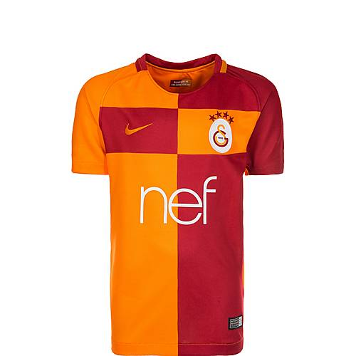 Nike Galatasaray Istanbul Trikot Home 17/18 Fußballtrikot Kinder rot / orange