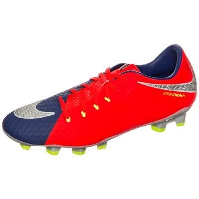 Nike Hypervenom Phelon III Fußballschuhe Herren blau / orange