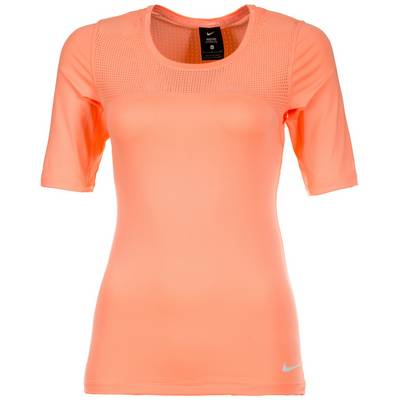 Nike Pro Hypercool Funktionsshirt Damen apricot