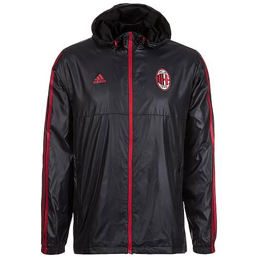 adidas AC Mailand Windbreaker Herren schwarz / rot