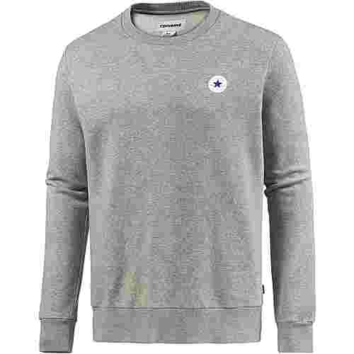 CONVERSE Sweatshirt Herren VINTAGE GREY HEATHER