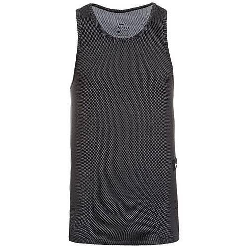 Nike Dry Hyper Elite Basketball Shirt Herren schwarz / weiß