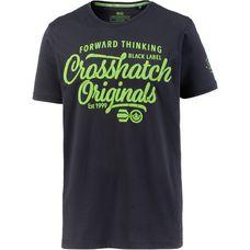 Crosshatch T-Shirt Herren NIGHT SKY