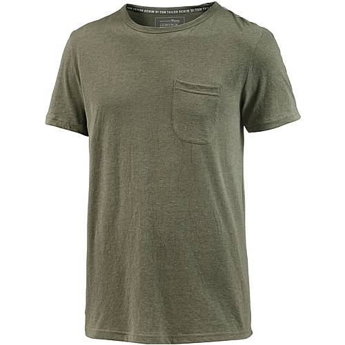 TOM TAILOR T-Shirt Herren woodland green