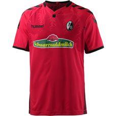 hummel SC Freiburg 17/18 Heim Fußballtrikot Herren true red/black