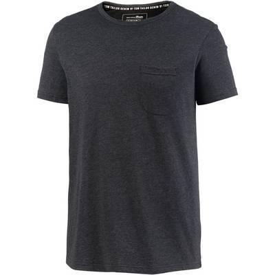 TOM TAILOR T-Shirt Herren black