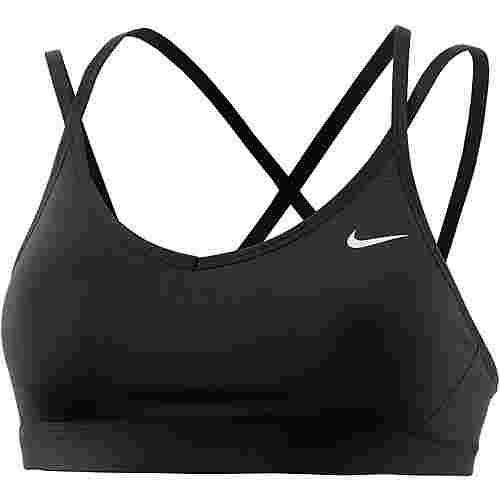 Nike Favorite Strappy Sport-BH Damen BLACK/BLACK/WHITE