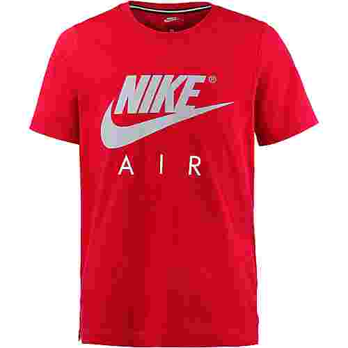 Nike T-Shirt Kinder UNIVERSITY RED/WOLF GREY