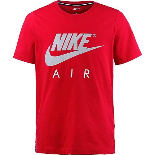 Nike T-Shirt Kinder UNIVERSITY RED/WOLF GREY