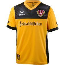 Erima Dynamo Dresden 17/18 Heim Fußballtrikot Kinder dynamo gelb/schwarz
