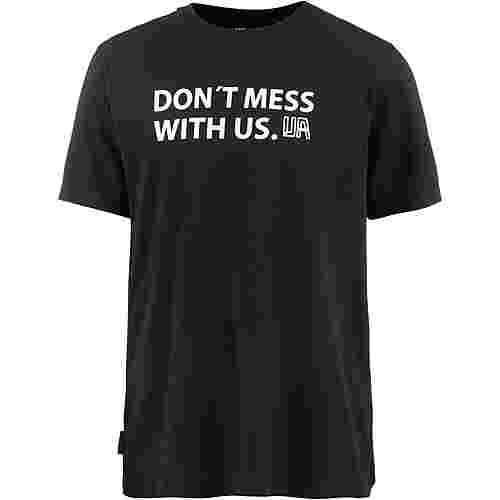 Unfair Athletics Printshirt Herren black
