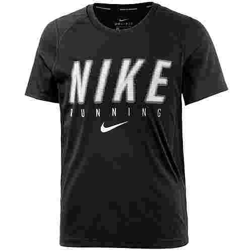 Nike Laufshirt Kinder BLACK