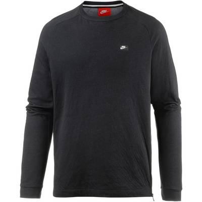 Nike NSW Sweatshirt Herren BLACK/CARBON HEATHER