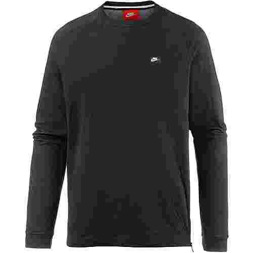 Nike NSW Sweatshirt Herren BLACK/CARBON HEATHER
