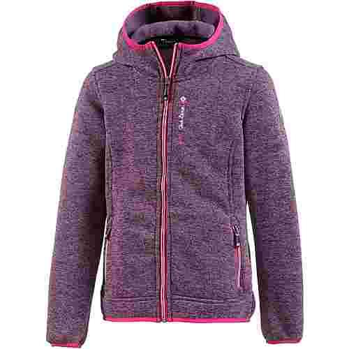 KILLTEC Abine Strickfleece Kinder violett