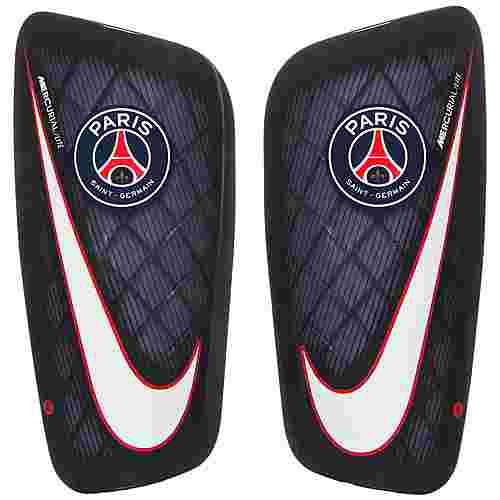 Nike Paris Saint-Germain Mercurial Lite Schienbeinschoner dunkelblau / weiß