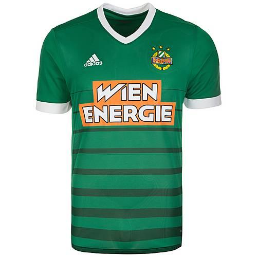 adidas SK Rapid Wien 17/18 Heim Fußballtrikot Herren grün / weiß