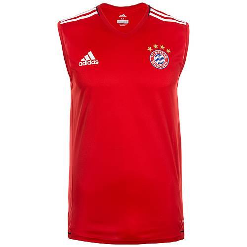 adidas FC Bayern München Fanshirt Herren rot / weiß
