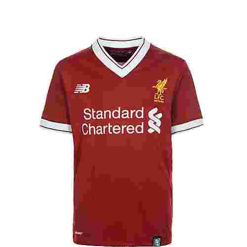 NEW BALANCE FC Liverpool 17/18 Heim Fußballtrikot Kinder rot / weiß